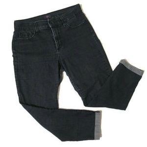NYDJ High Waist Ankle Cuffed Jean 8
